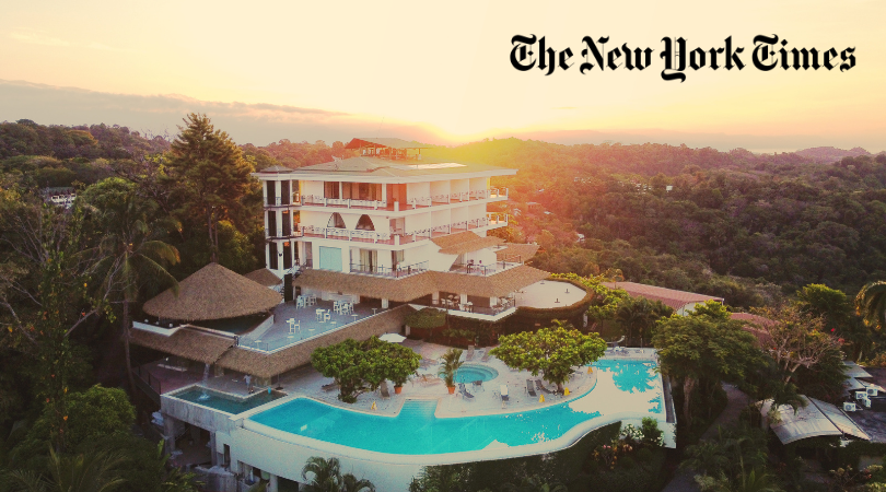 the New York Times la Mariposa Hotel